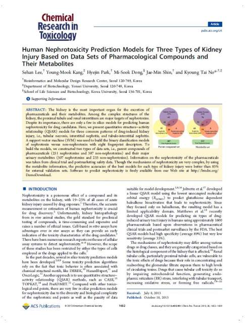 2013_Human Nephrotoxicity Prediction Models for Three Types of Kidney Injury Based on Data Sets of Pharmacological Compounds and Their metabolits.jpg
